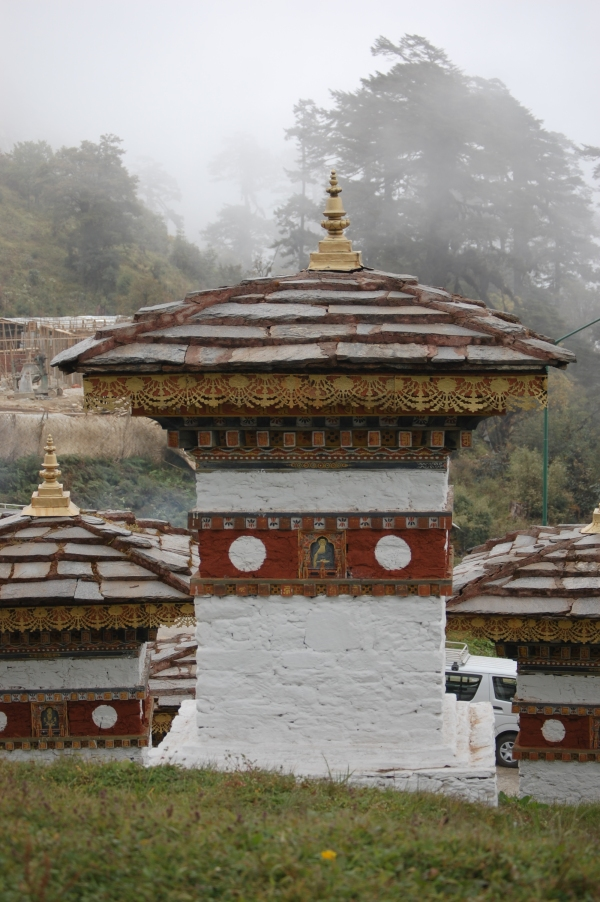 One of 108 stupas at Dochula Pass