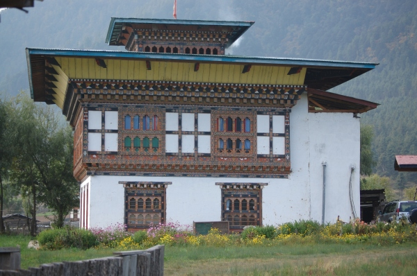 Bhutanese Farmhouse