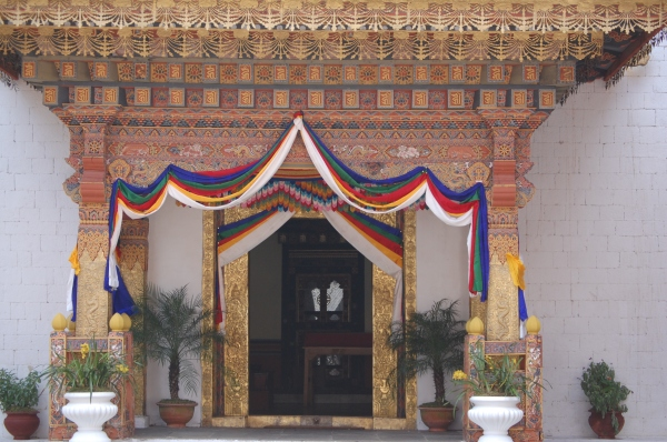 Entrance to the secret chambers of the Shabdrung