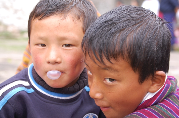 Bhutanese boys