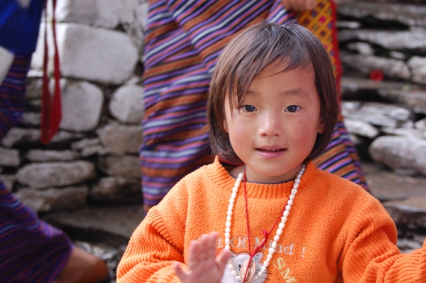 Little Bhutanese girl